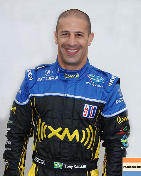 2007 American Lemans Series driver's portraits. Tony Kanaan