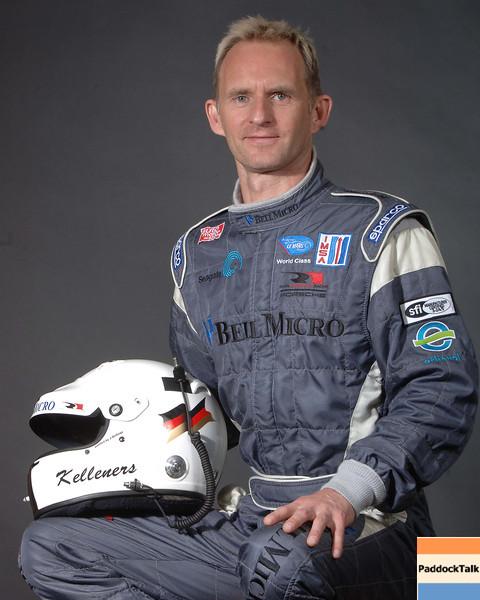 2007 American Lemans Series driver's portraits. Ralf Kelleners.