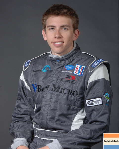 2007 American Lemans Series driver's portraits. Tim Milner