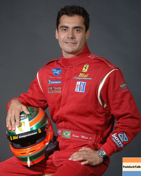 2007 American Lemans Series driver's portraits. Jaime Melo