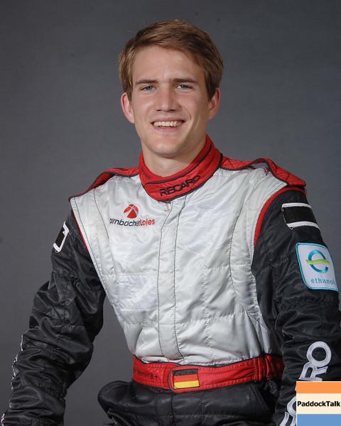 2007 American Lemans Series driver's portraits. Dirk Werner