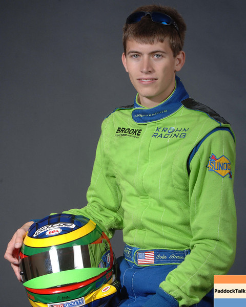2007 American Lemans Series driver's portraits. Colin Braun