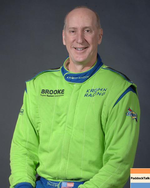 2007 American Lemans Series driver's portraits. Tracy Krohn
