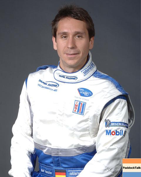 2007 American Lemans Series driver's portraits. Wolf Henzler