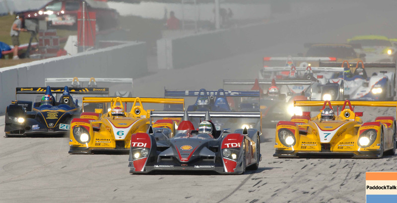 American Lemans Series. 29-31 March 2007. St Petersburg Grand Prix. St. Petersburg, Fla. green flag start.