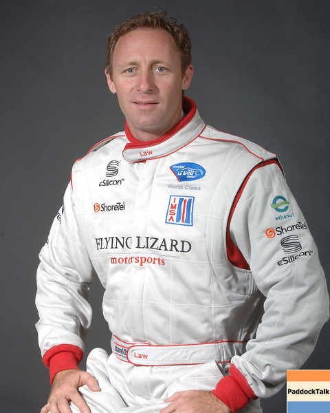 2007 American Lemans Series driver's portraits. Darren Law