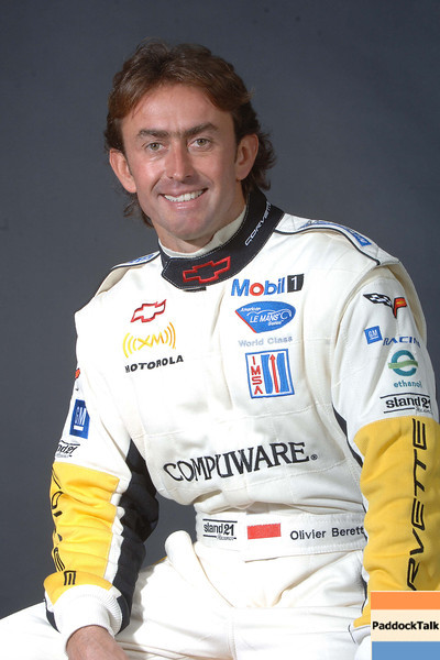 2007 American Lemans Series driver's portraits. Olivier Beretta