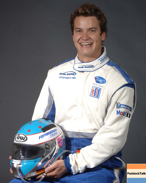 2007 American Lemans Series driver's portraits. Dominik Farnbacher