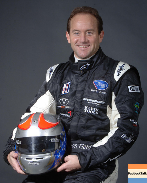 2007 American Lemans Series driver's portraits. Jon Field