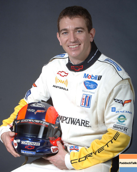 2007 American Lemans Series driver's portraits. Oliver Gavin