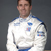 2007 American Lemans Series driver's portraits. Ian James