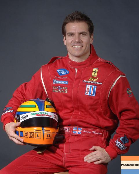 2007 American Lemans Series driver's portraits. Johnny Mowlem