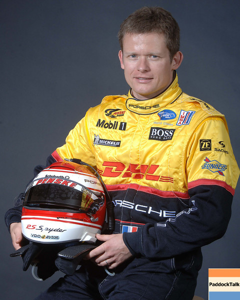 2007 American Lemans Series driver's portraits. Emanuel Collard