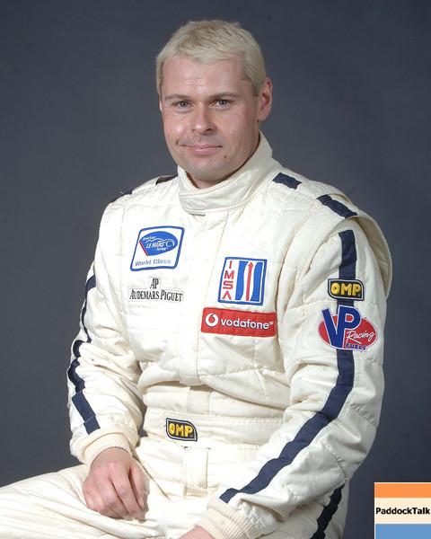 2007 American Lemans Series driver's portraits. Ben Aucott