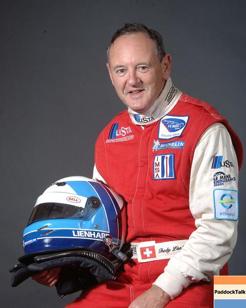 2007 American Lemans Series driver's portraits. Fredy Leinhard