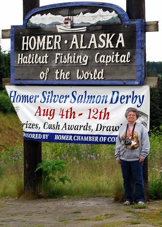 2007 Alaska trip; Anchorage to Homer
