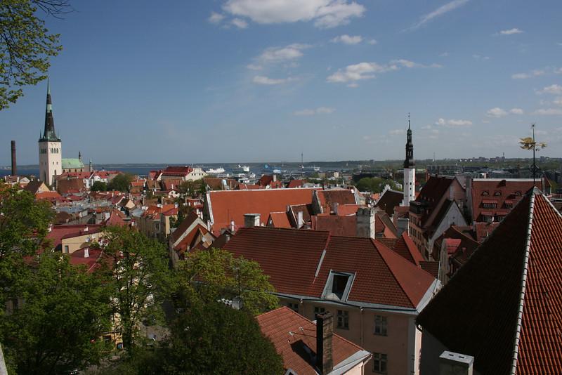 Rooftops, Tallin, Estonia