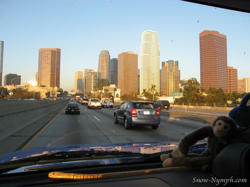 I hate LA traffic!