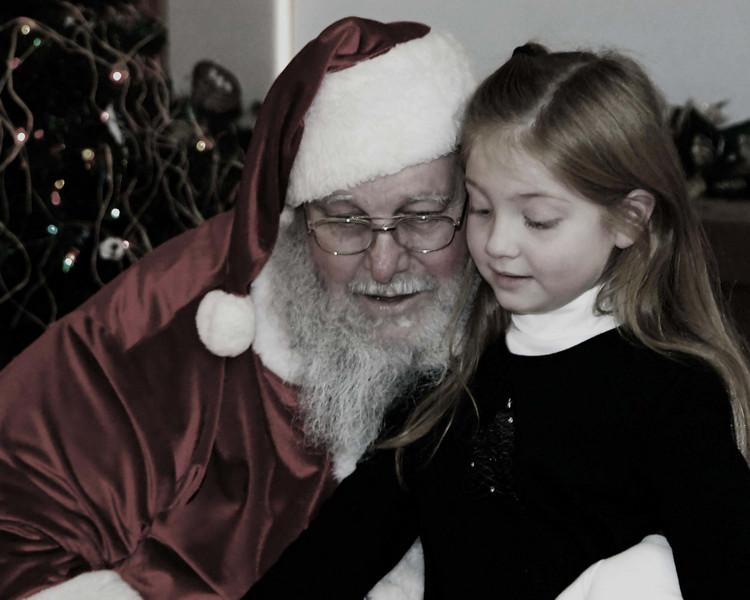 Visiting Santa<br /> 12/1/07