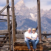 Me and Brenda at Mormon Row