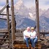 Me and Brenda at Mormon Row