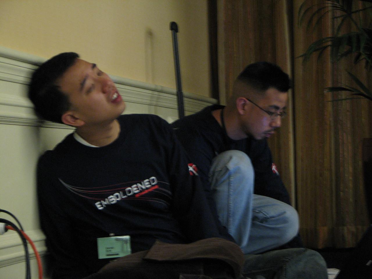 2007 02 17 Sat - David Sun & Bun Lau 1