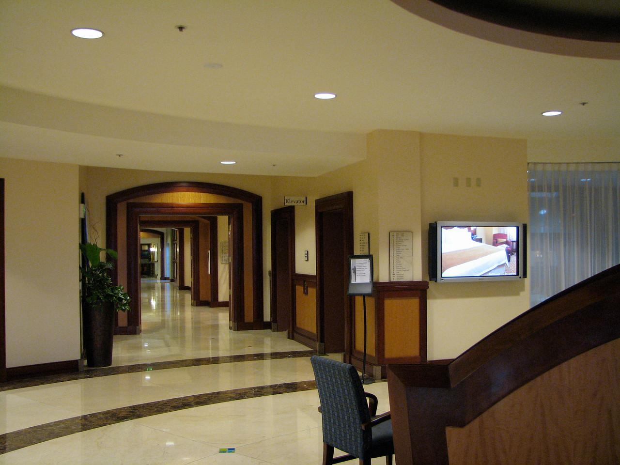 2007 02 18 Sun - San Mateo Marriott lobby 1