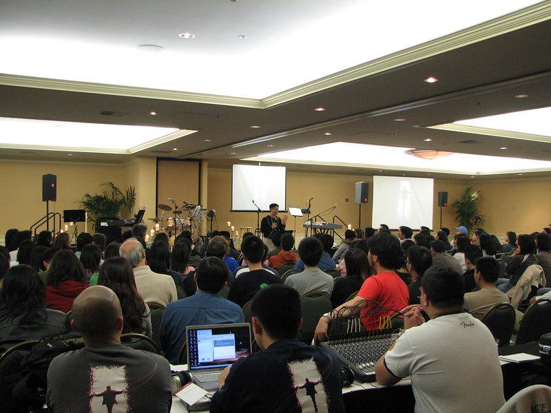 2007 02 17 Sat - Frank Dang sharing testimony