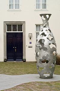 Door + Vase