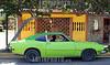 Venezuela - Caracas : . / coche verde en una calle en Caracas. / Gründes Auto in Caracas. © Sebastian Hacher/LATINPHOTO.org