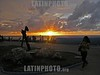 Cuba : Atardecer en el Acuario Nacional de Cuba, La Habana . / To grow dark in National Aquarius of high rail of Cuba, Havana. / Kuba: Sonnenuntergang am Malecon in Havanna. © Carlos Baston Chils/LATINPHOTO.org
