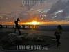 Cuba : Atardecer en el Acuario Nacional de Cuba, La Habana . / To grow dark in National Aquarius of high rail of Cuba, Havana. / Kuba: Sonnenuntergang am Malecon in Havanna. © Carlos Baston Chils/LATINPHOTO.org