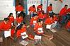 """Venezuela - Tacupita : Warau . Indigenas del Delta Amacuro, estudiando con el metodo cubano Yo si Puedo. Alfabetizacion. / Venezuela - Tacupita: Warau. Indigenous of Delta Amacuro, studying with the Cuban method """"I if I Can"""". / Venezuela - Tacupita: Warau. Indigenas. Delta Amacuro. Kinder lernen mit der kubanischen Lernmethode YO SI PUEDO. Alphabetisierungsprogramm. © Alberto Borrego Avila/LATINPHOTO.org"""