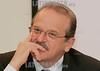Ministro da Justica do Brasil Tarso Genro (D) durante conferencia no seu primeiro dia de visita oficial a Portugal realizado na Embaixada do Brasil em Lisboa nesta quinta-feira 10 de Janeiro de 2007 . © Paulo Amorim/LATINPHOTO.org