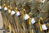 Nicaragua : Ejercito de Nicaragua en su Aniversario . / soldiers. / Nikaragua: Soldaten während einer Parade. Armee. Säbel. © Inti Ocon/LATINPHOTO.org