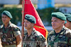 Nicaragua : Ejercito de Nicaragua en posicion de descanso en Aniversario del Ejercito . / soldiers. / Nikaragua: Soldaten während einer Parade. © Inti Ocon/LATINPHOTO.org