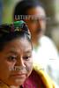 Guatemala : Rigoberta Menchu de las elecciones generales en Guatemala y que perdiera postulada por el partido Encuentro por Guatemala , la premio nobel dice que es el principio de su lucha por la presidencia de la republica . © Jesus Alfonso/LATINPHOTO.org