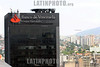 Venezuela : Panoramica de la diudad de Caraca . Bnco de venezuela - Grupo Santander. / Caracas City. / Venezuela: Bankgebäude in der Hauptstadt Caracas. © Juan Carlos Hernandez/LATINPHOTO.org