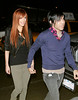 26 Feb 2008 - New York, NY - Ashlee Simpson and Pete Wentz goes out to party at Marquee in NYC.   Photo Credit Jackson Lee