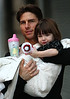 3 December 2008 - Tom Cruise and Suri Cruise out and about in NYC.   Photo Credit Jackson Lee