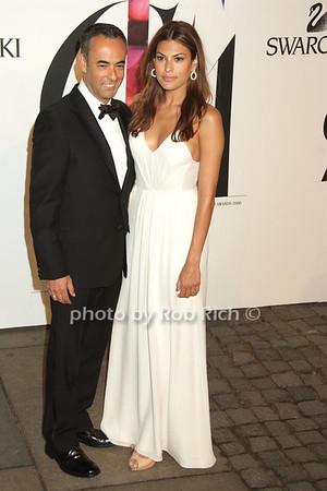 Narcisso Rodriguez, Eva Mendes photo by Rob Rich © 2008 robwayne1@aol.com 516-676-3939