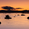 Sunrise at Mono Lake, West side. Eastern Sierra, Fall 08