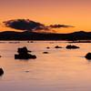 Sunrise at Mono Lake, West side. Eastern Sierra, Fall 08