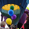 Feeding the balloon, Windsor Balloon Festival