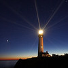 Pigeon Point Lighthouse annual beacon lighting.  November 08