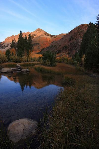 Sunrise at North Lake, Eastern Sierra, Fall 08