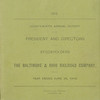 Baltimore & Ohio Railroad 1915 annual report<br /> 329444683_u3scz