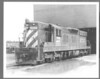 "BN #6034 SD-7 8x10"" B&W diesel Burlington Northern"