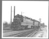"GEORGIA #753 GP40 8x10"" B&W diesel photo<br /> 321501142_oVL8b"
