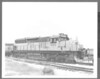"C&NW #6614 SD-9 8x10"" B&W diesel Chicago & NorthWestern"